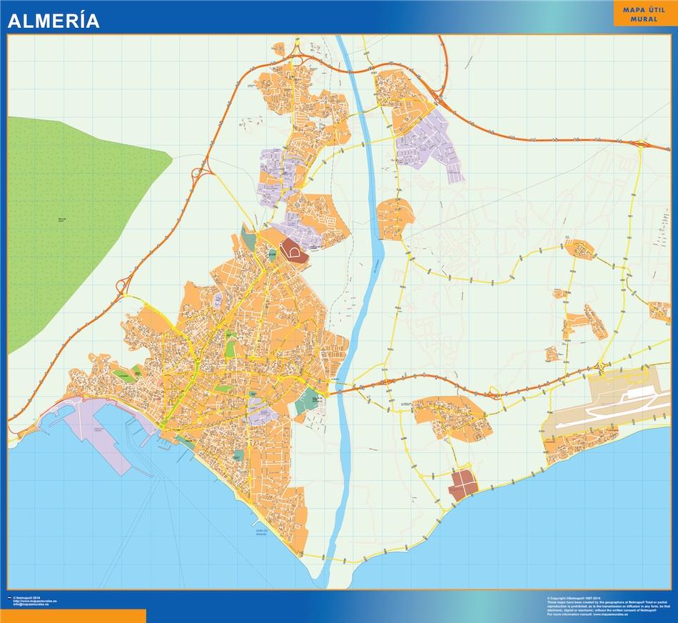 Mapa Almeria callejero