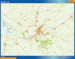 Mapa Aurillac