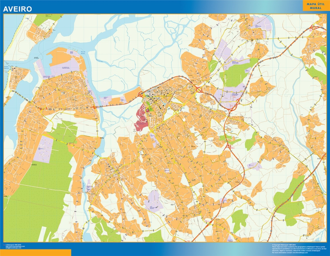 Mapa Aveiro