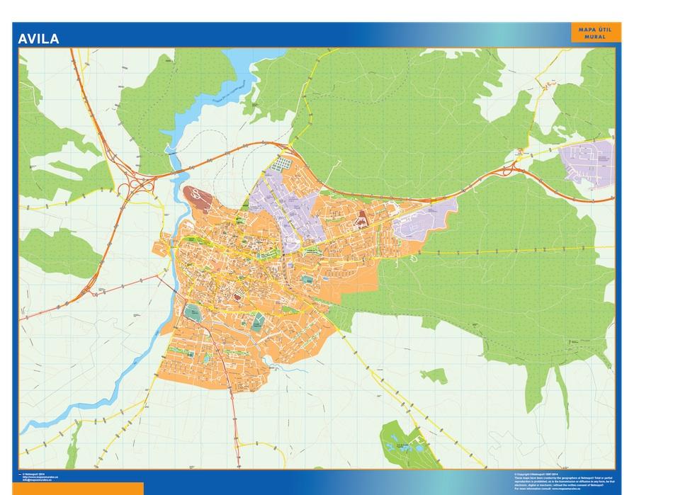 Mapa Avila