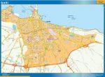 Mapa Bari