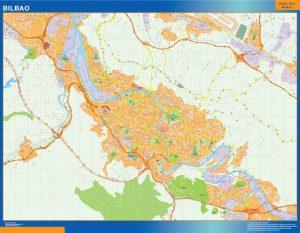 Mapa Bilbao callejero