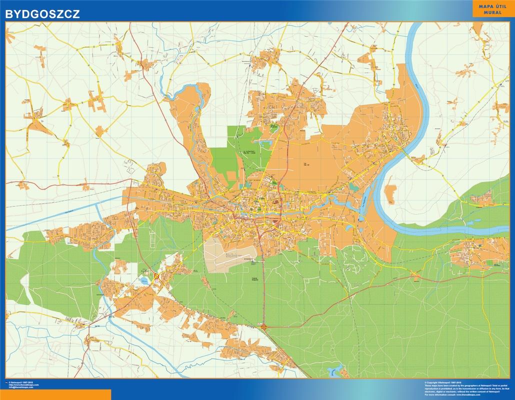 Mapa Bydgoszcz
