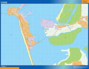 Mapa Cadiz