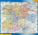 Mapa Castilla y Leon