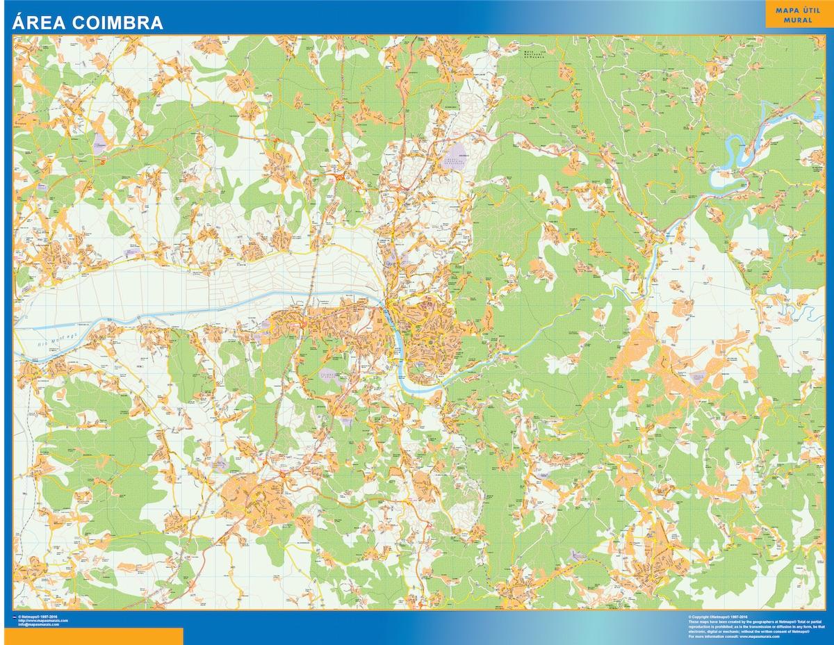 Mapa Coimbra Area