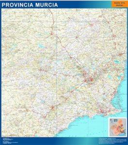 Mapa Región Murcia
