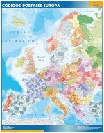 Mapa Europa Códigos Postales
