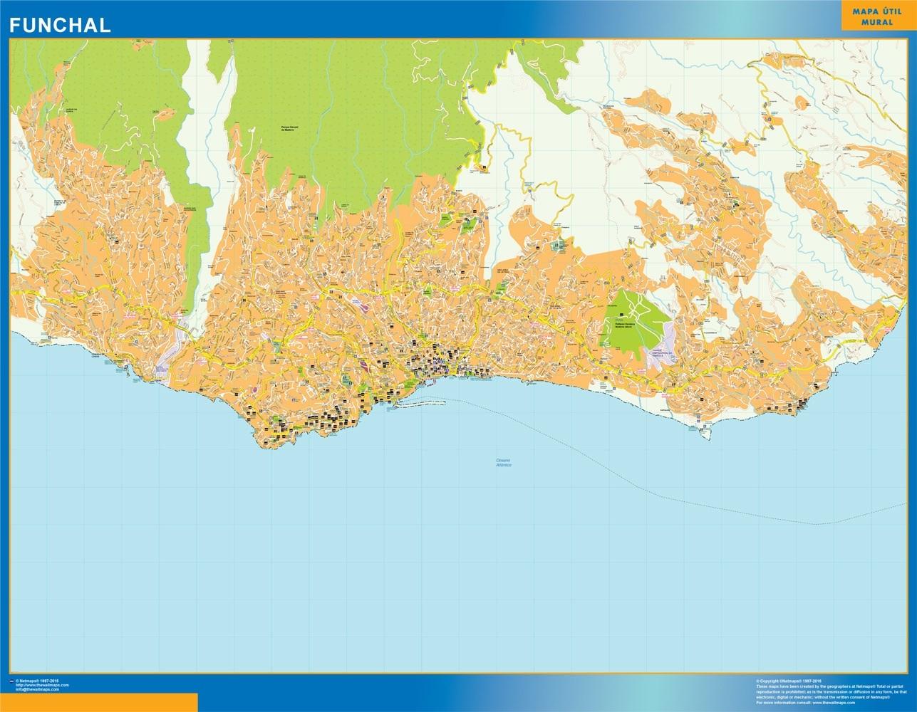 Mapa Funchal