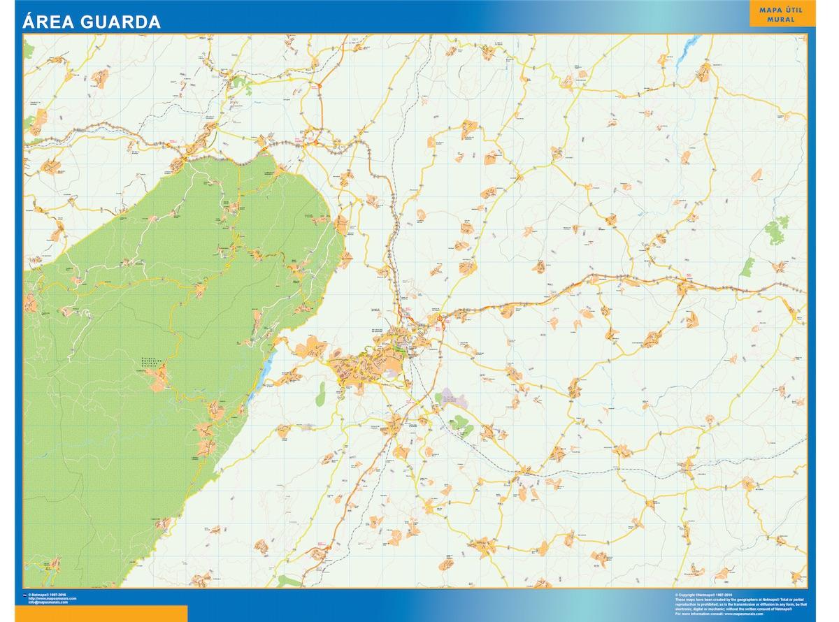 Mapa Guarda Area