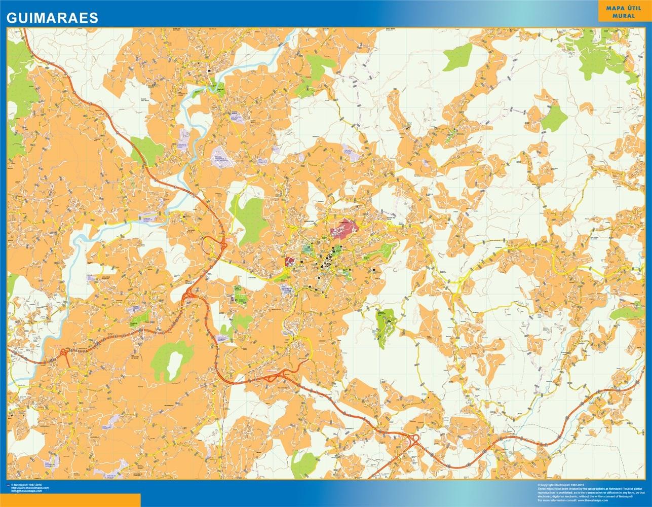 Mapa Guimaraes