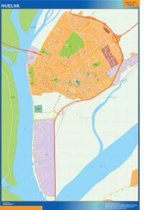 Mapa Huelva callejero