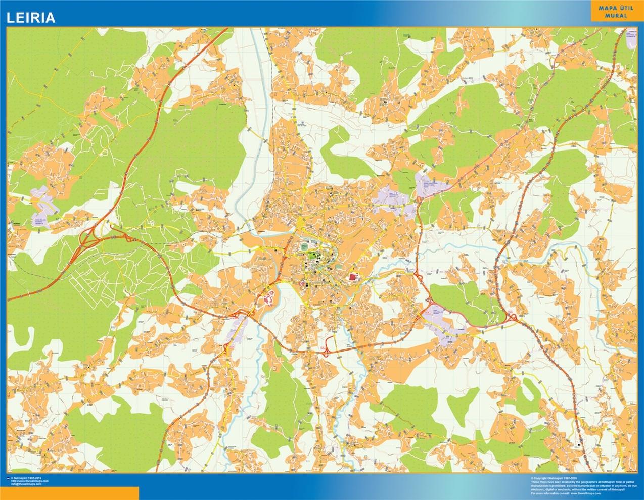 Mapa Leiria