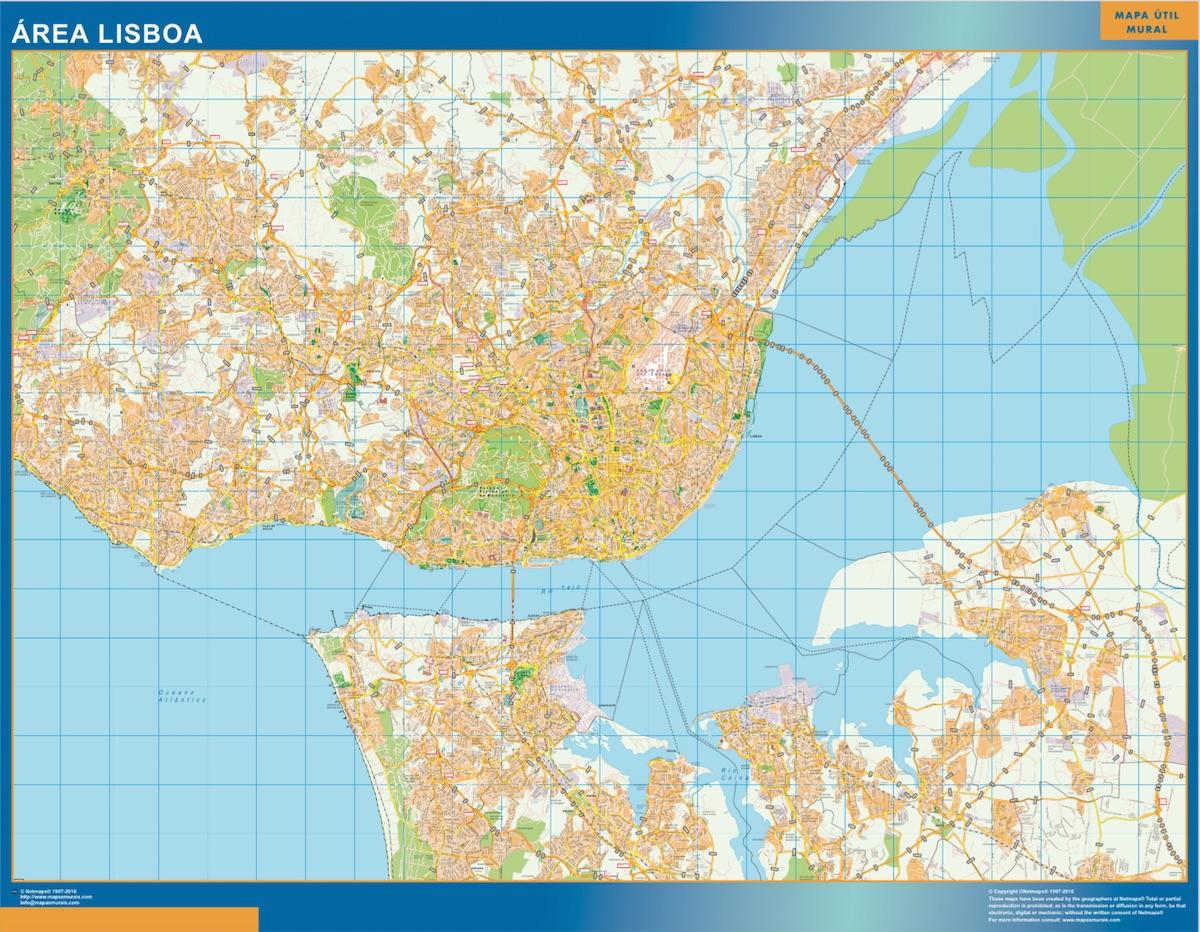 Mapa Lisboa Area