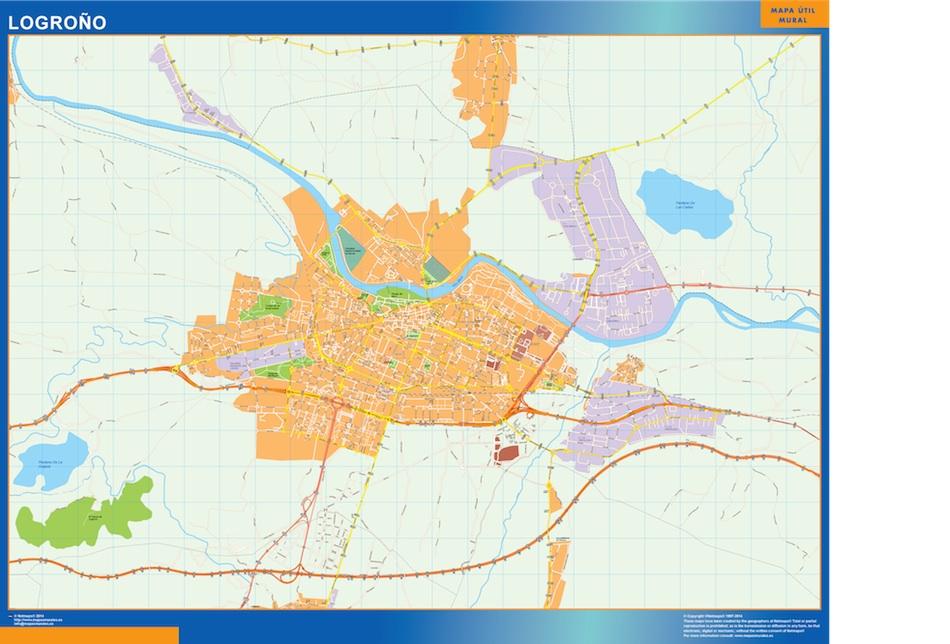 Mapa Logroño en La Rioja