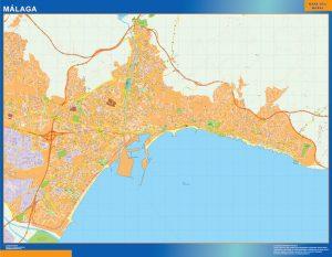Mapa Malaga