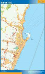 Mapa Messina