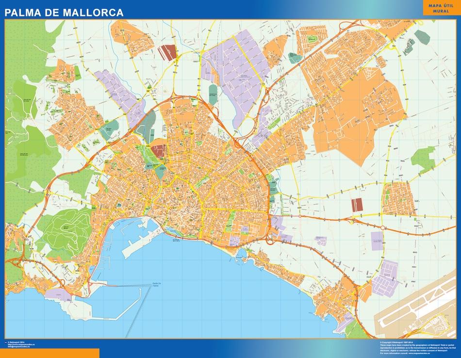Mapas baleares mapas murales espa a y el mundo for Codigos postales madrid capital