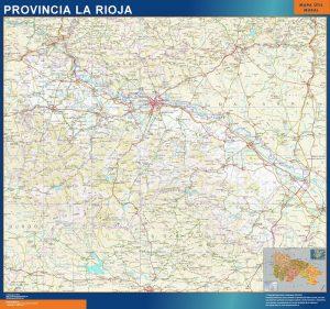 Mapa Comunidad Autonoma La Rioja