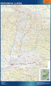 Mapa Provincia Lérida
