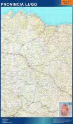 Mapa Provincia Lugo