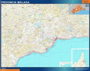 Mapa Provincia Malaga