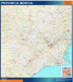 Mapa Provincia Murcia