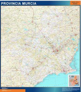 Mapa Región de Murcia