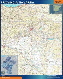 Mapa Comunidad Foral Navarra