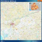 Mapa Provincia Sevilla