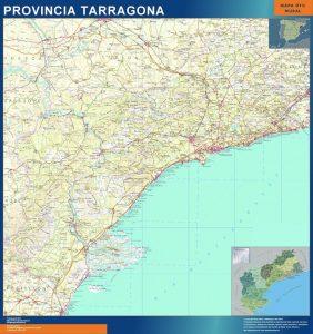 Mapa Provincia Tarragona