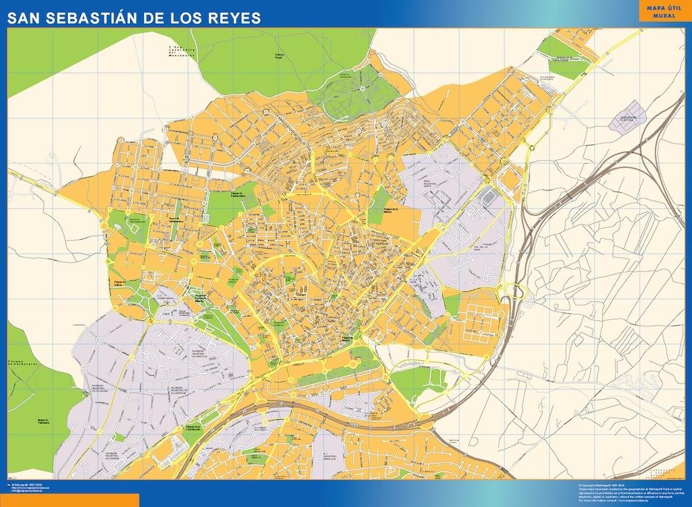 Mapa San Sebastian De Los Reyes
