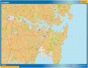 Mapa Sydney