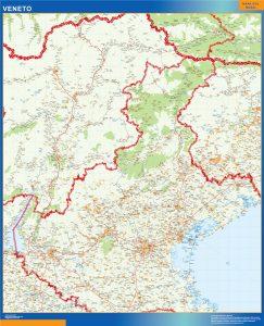Mapa Veneto