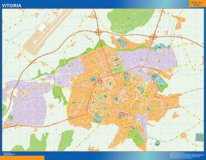 Mapa Vitoria callejero