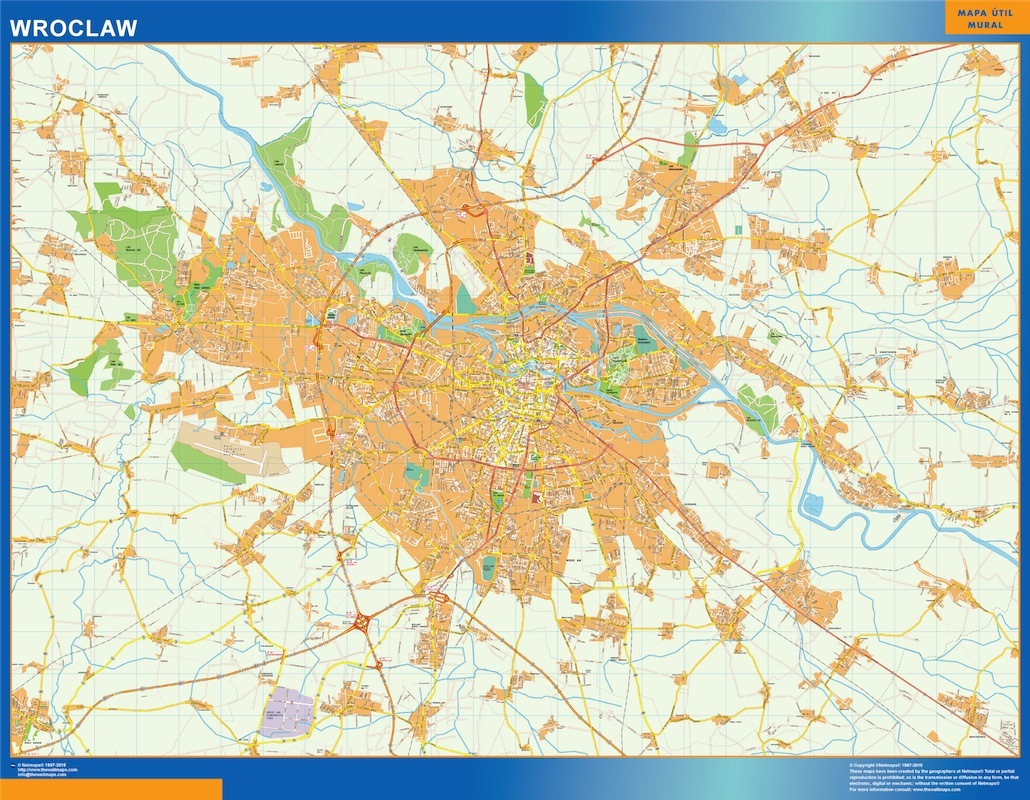 Mapa Wroclaw
