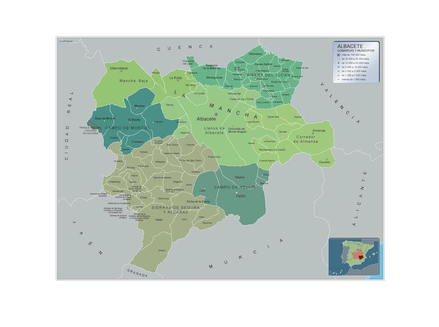 Municipios Albacete