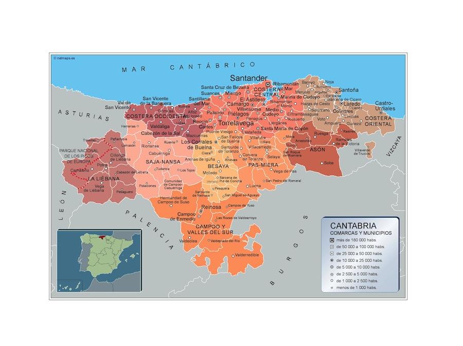 Municipios Cantabria