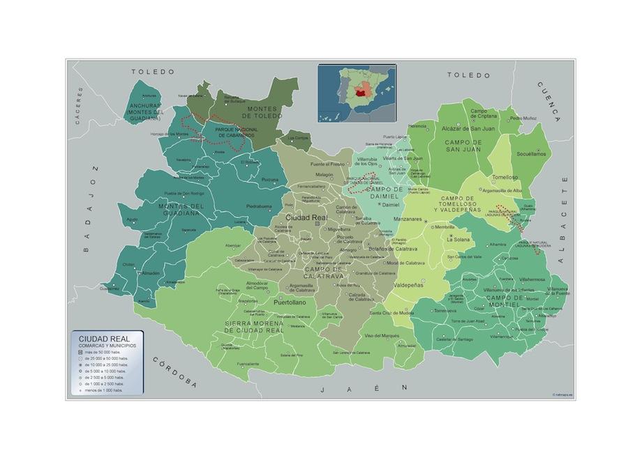 Municipios Ciudad Real