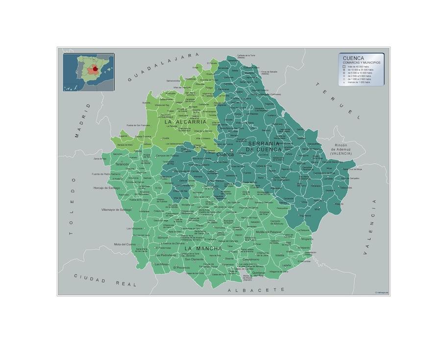 Municipios Cuenca