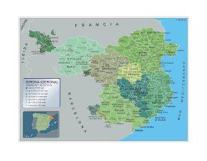 Municipios Girona