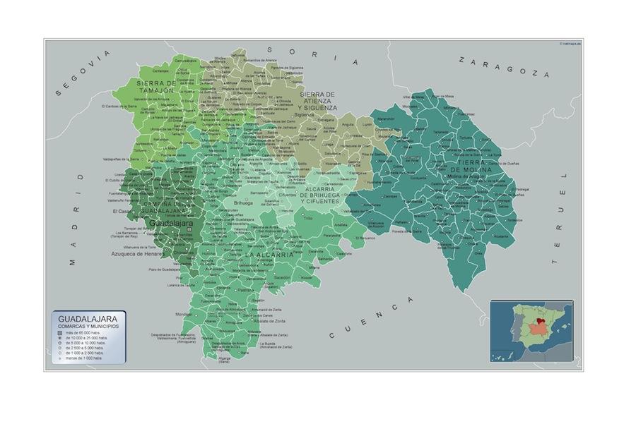 Municipios Guadalajara