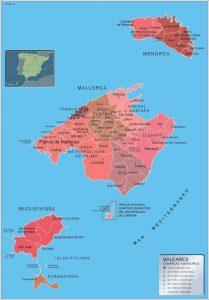 Mapas Municipios Illes Balears