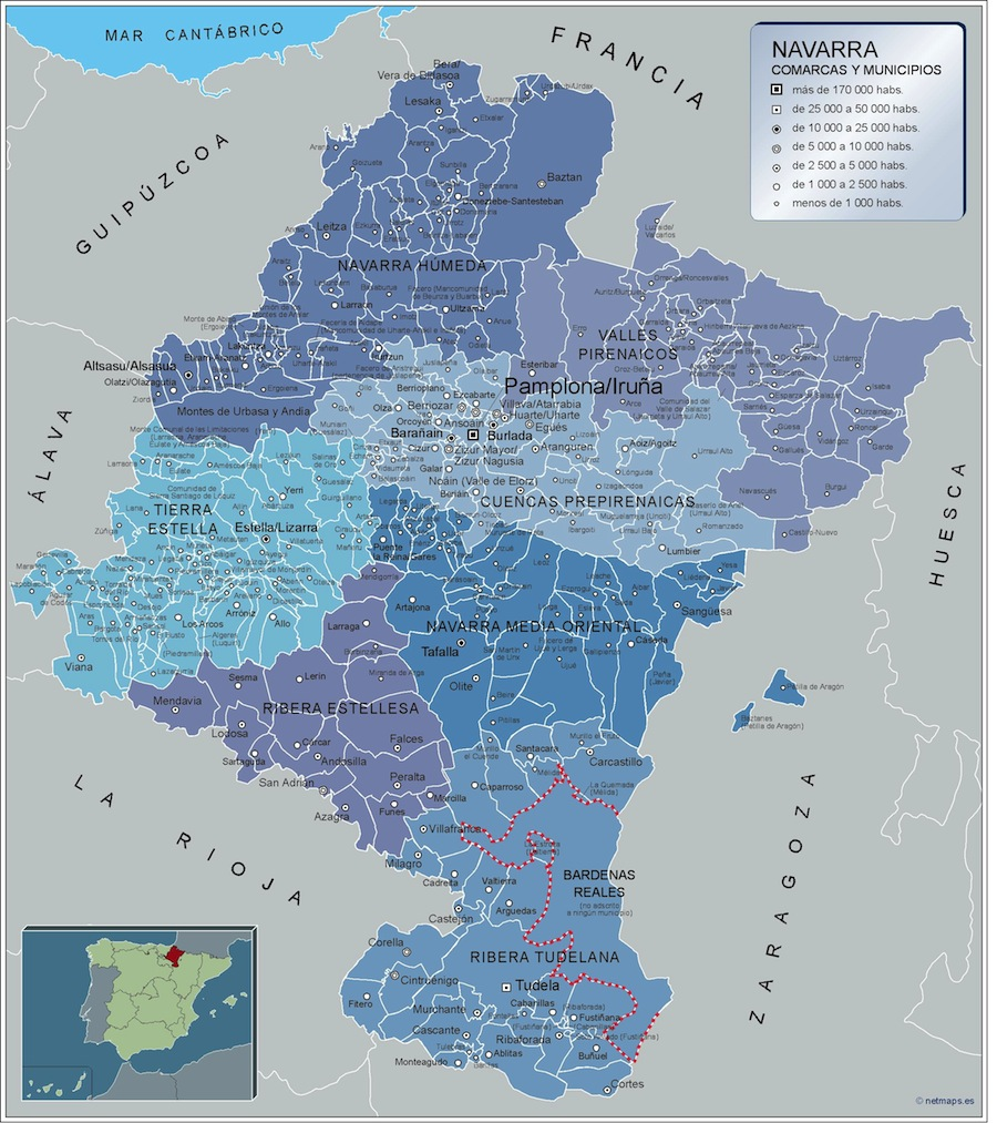 Municipios Navarra