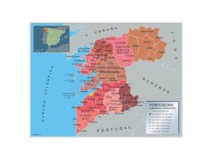 Municipios Pontevedra
