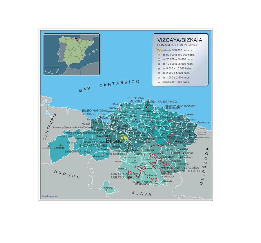 Municipios Vizcaya