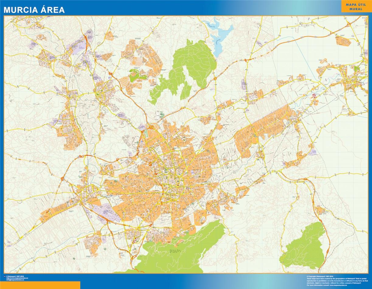 Murcia Mapa Area