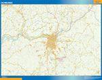 Ourense Mapa Area