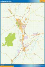 Palencia Mapa Area