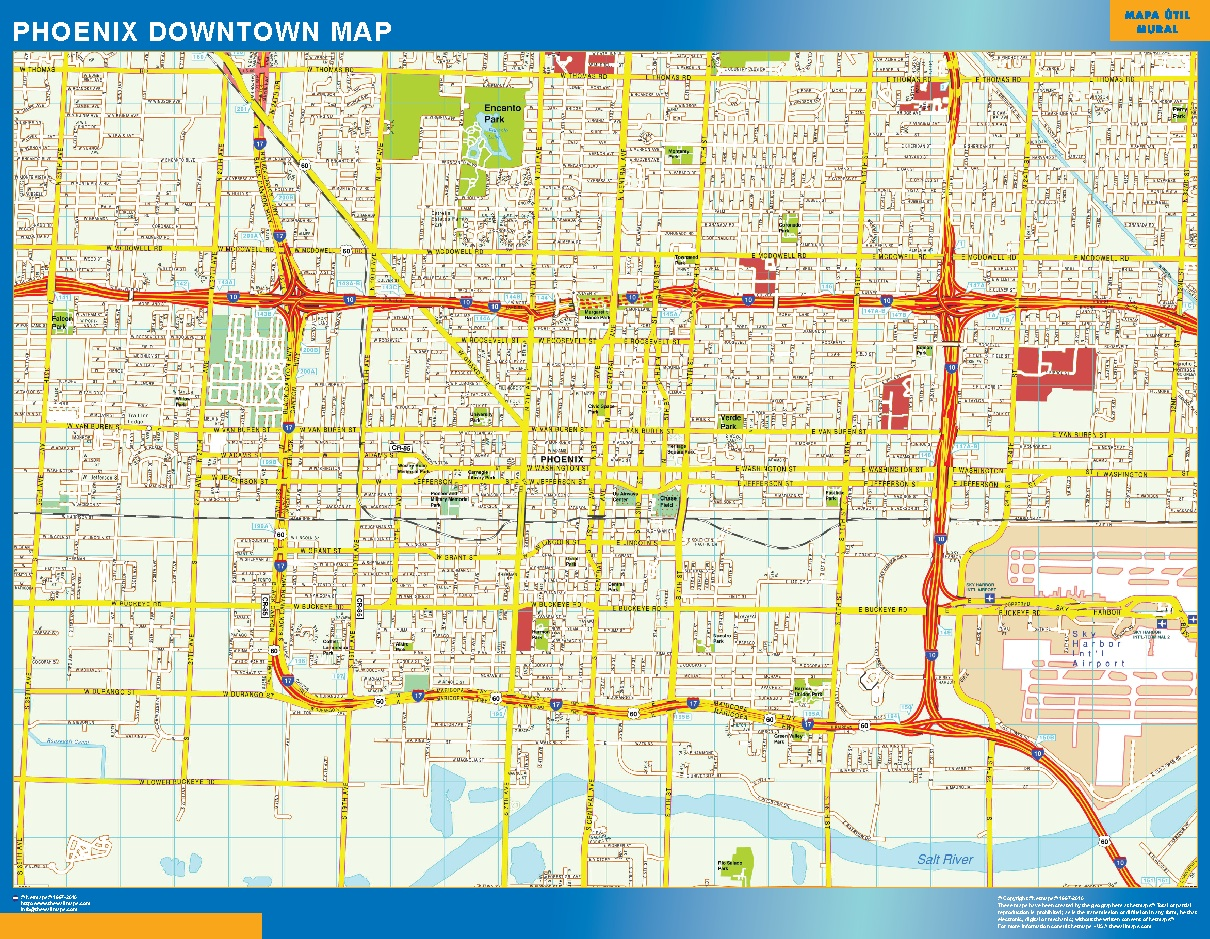 Phoenix Mapa Centro